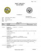 Lostotter Military Transcript