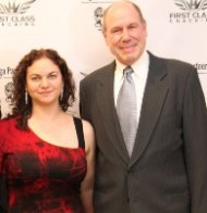 Lisa Phillips with Michael Eisner