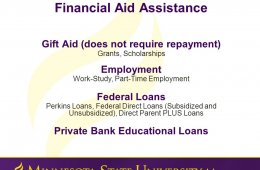 Bank educational loans