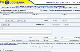 Education Loan by UCO Bank
