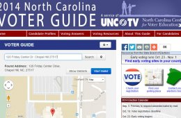 NC Voter Education Center