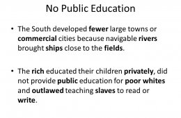 No public education