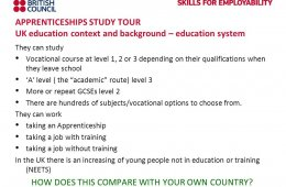 UK education system vocational