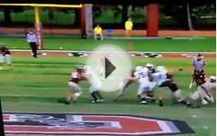 Colgate Football Afriyie Sack/Buttermore TD 2015 vs Yale