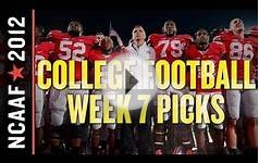 College Football Week 7 Picks Against the Spread