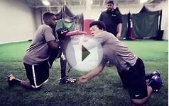 Defensive Lineman Drills Compilation for Youth, High