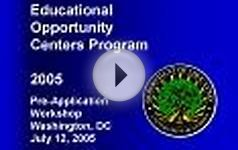 Educational Opportunity Centers FY 2006 Workshops (MS