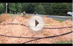 Geothermal Installation in Raleigh NC Demonstrated by