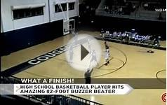 High school basketball player hits amazing 82-foot buzzer