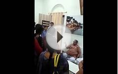 Higher Education Minister of MP shows Indecent behaviour
