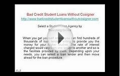 How to Apply Bad Credit Student Loans Without Cosigner