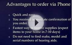 How to Order VA Hearing Aid Batteries via Phone through DALC