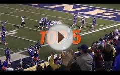 Hudl Top 5 High School Football Plays: Week 8 - 2015