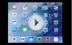 Notification Center for iOS 7 iPad tutorial