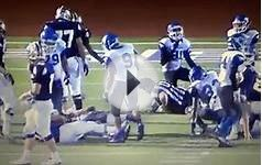 Referee takes hit in Texas high school football game