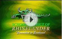 School District of Rhinelander Informational Video